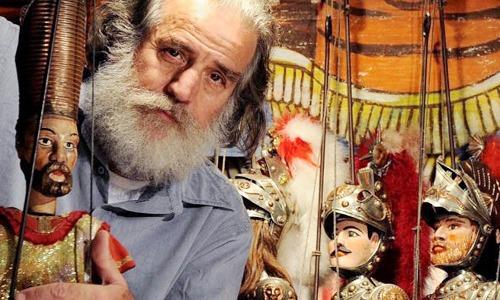 Mimmo Cuticchio: 50 anni di attività festeggiati in streaming, insieme al suo pubblico