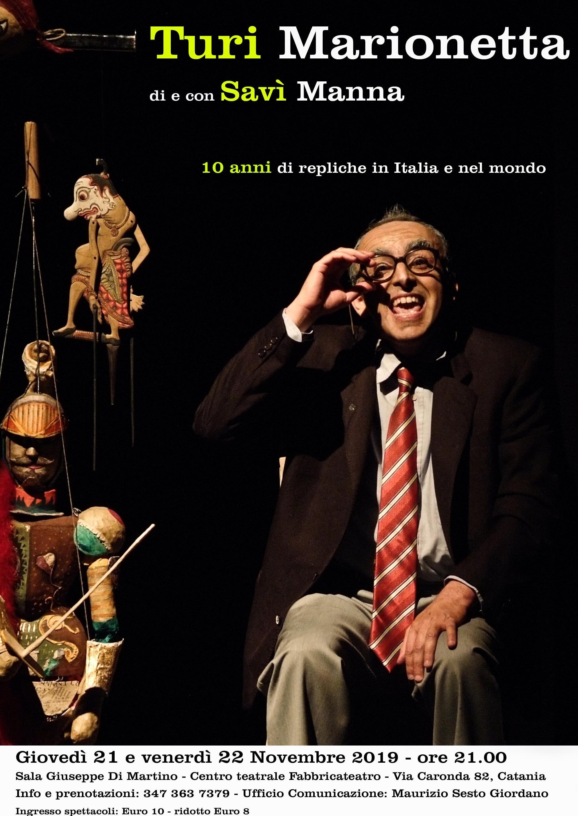 Il Paradiso dantesco in scena a Catania nel nuovo spettacolo di Guglielmino