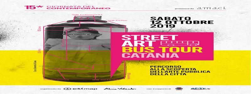 Street Art Bus Tour #Catania: alla scoperta dell'arte di strada catanese