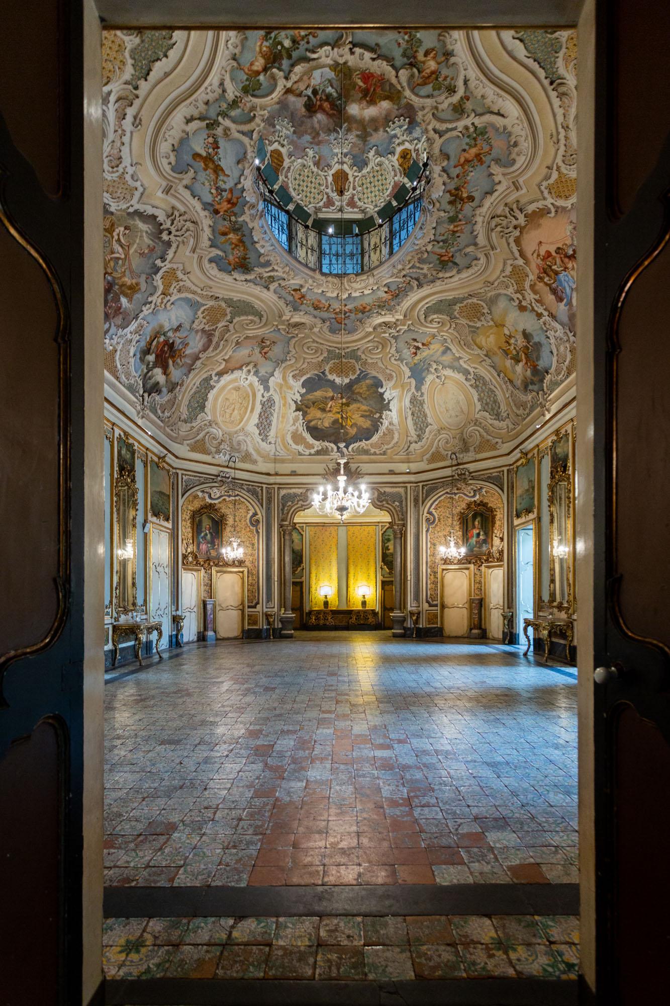 L'arte contemporanea arriva al Palazzo Biscari di Catania