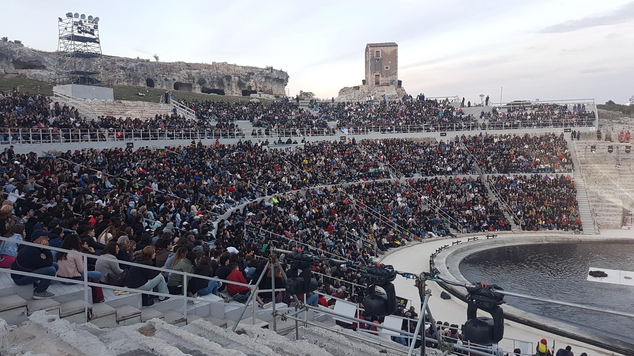 Seven days walking - Ludovico Einaudi al Teatro Greco di Siracusa