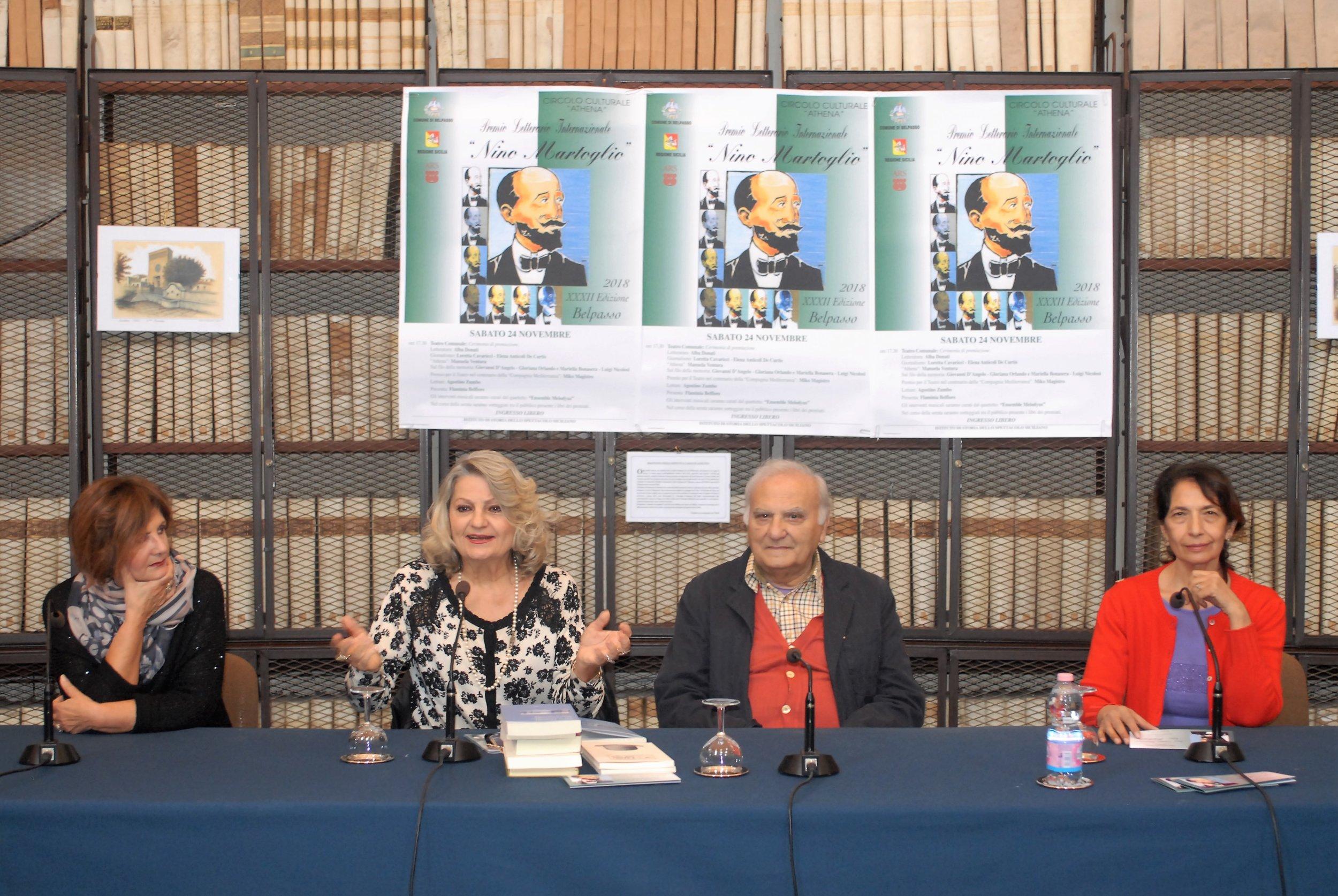"""32° edizione Premio Letterario Internazionale """"Nino Martoglio"""""""