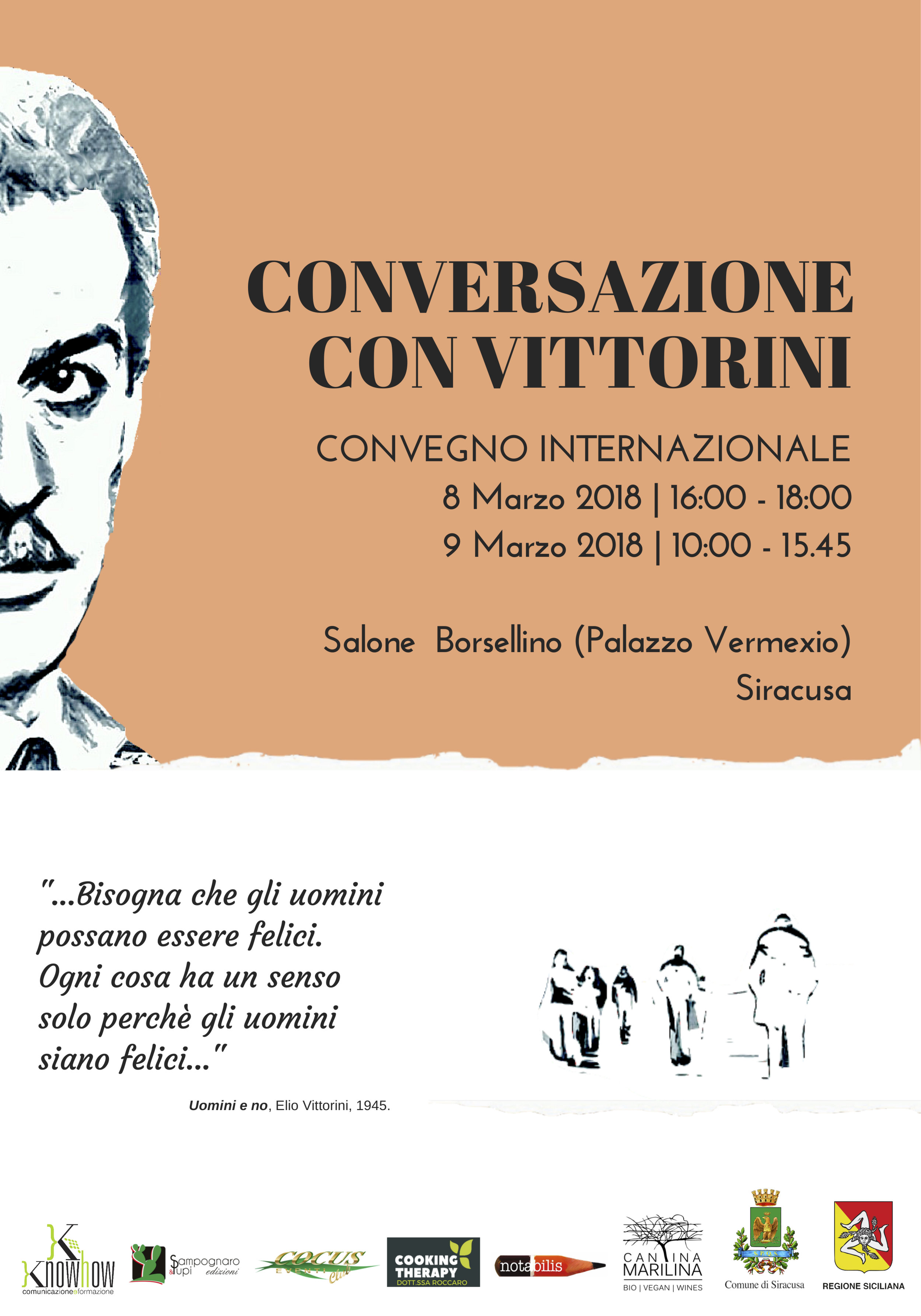 """Convegno Internazionale """"Conversazione con Vittorini"""""""