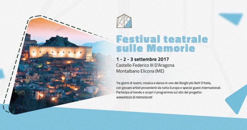 """Si accendono i fari sul borgo di Montalbano Elicona con """"Il festival teatrale sulle memorie"""""""