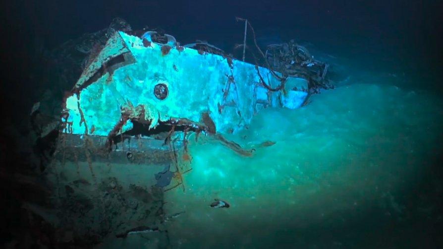 Rivede la luce il Cacciatorpediniere Artigliere, la nave affondata 77 anni fa