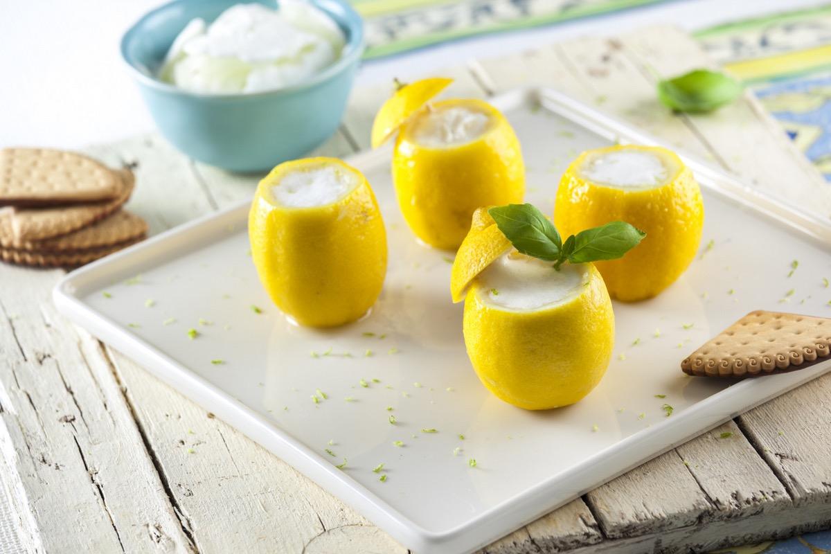 Ricetta sorbetto al limone